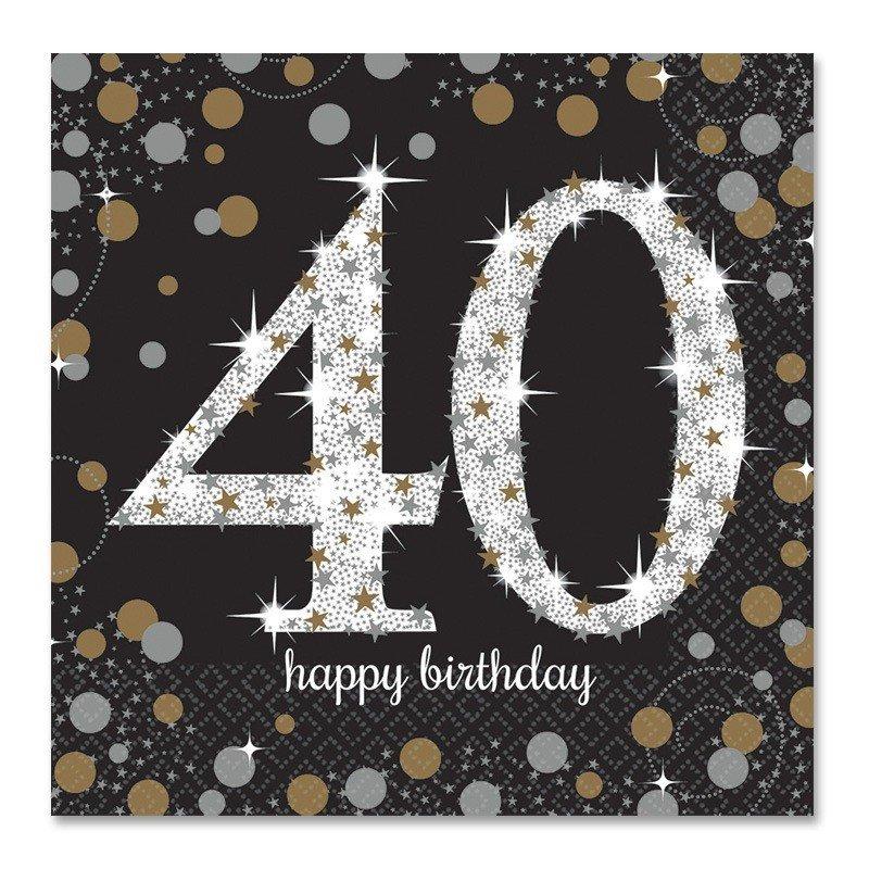 Extrêmement Compleanno 40 Anni - Idee, Gadget, e Addobbi per Uomo e Donna  HA06