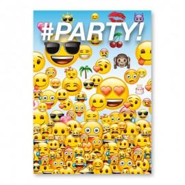 8 Inviti con Emoticons