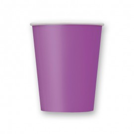 8 Bicchieri di Carta 266 ml