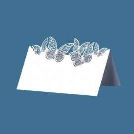 10 Biglietti con Farfalle 9,2 x 5,7 cm