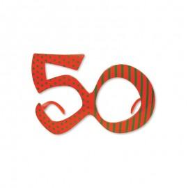 Occhiali per Compleanno Numero 50