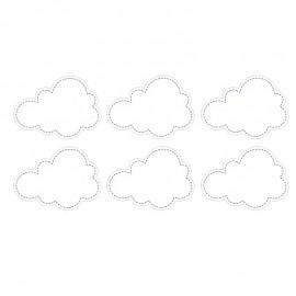 6 Adesivi forma Nuvola