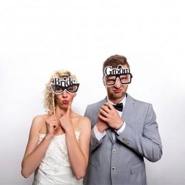 2 Accessori Photo Booth Matrimoni