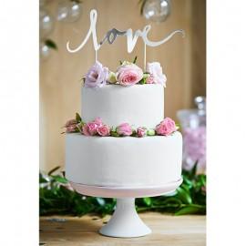 Topper Love per Torte