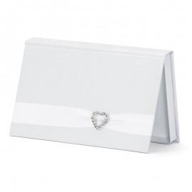 Busta per Matrimoni Bianco Perla