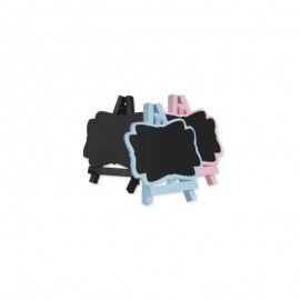 4 Lavagnette con Cavalletto 7 x 8 cm
