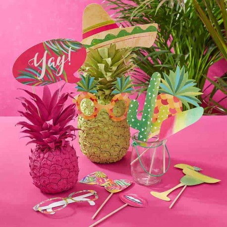 10 Accessori Hawaiani per il Photo Booth