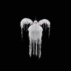 Fantasma Bianco con Luce Multicolore ed Ali