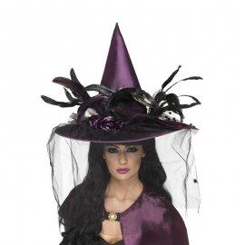 Cappello di Piume viola