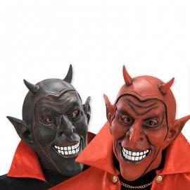 Maschera Demone con Corna