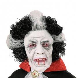 Maschera con Parrucca Vampiro