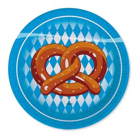 8 Piatti Oktoberfest 23 cm