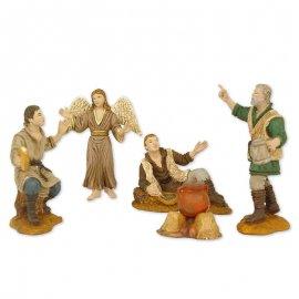 5 Figuras de Pesebre 8 cm