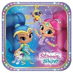 Compleanno Shimmer and Shine