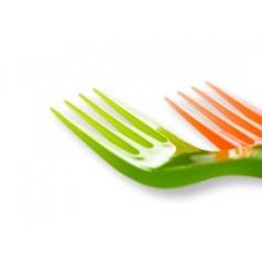 Forchette di Plastica
