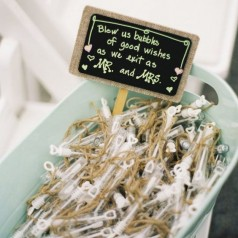 Spara Bolle Sapone Matrimonio