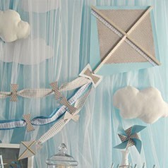 Addobbi battesimo decorazioni per i tuoi bambini festemix - Decorazioni battesimo bimbo ...