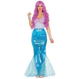Costume da Sirena per Donna dei Mari