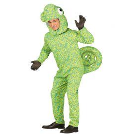 Costume da Camaleonte per Adulto con Testa