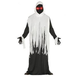Costume da Fantasma per Uomo con Occhi Led