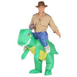 Costume da Dinosauro per Adulto con Ventola