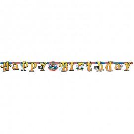 Striscione Happy Birthday Pirata 2.1m