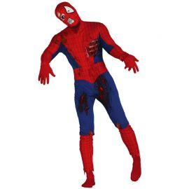 Costume da Superhero Zombie Rosso
