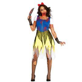 Disfraz de Princesa Zombie para Mujer con Diadema