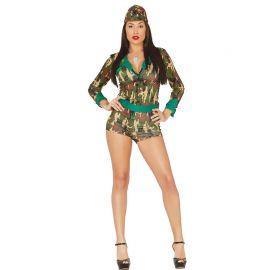 Costume da Militare per Donna con Tonalità Sexy
