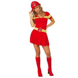 Costume da Pompiere per Donna con Cappello
