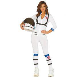 Costume da Astronauta per Donna con Bretelle