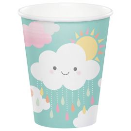 8 Vasos Nubes 266 ml