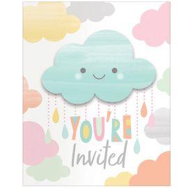 8 Inviti Nuvole