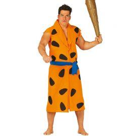 Costume da Troglodita per Uomo Arancione