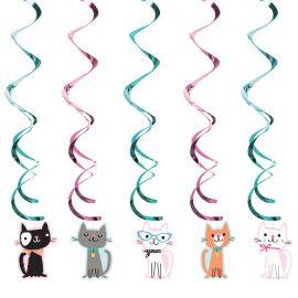 5 Colgantes Gatitos