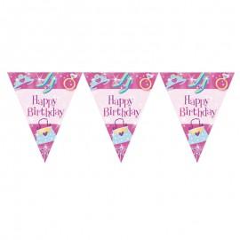 Bandierine Principessa Happy Birthday