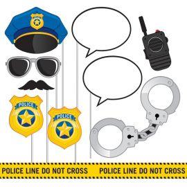 10 Accessori Polizia per Photo Booth