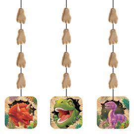 3 Ciondoli Dinosauri 91 cm