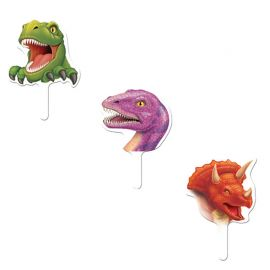 12 Toppers Dinosaurios