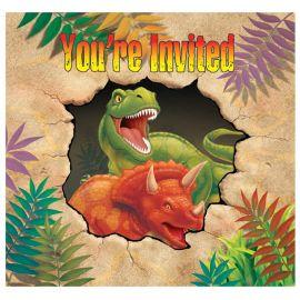 8 Inviti dei Dinosauri