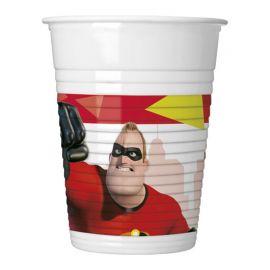 8 Bicchieri Gli Incredibili 200 ml