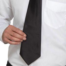 Cravatta Nera da Gangster