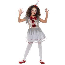 Costume da Mimo Terrificante per Bambina