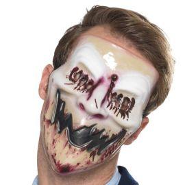 Maschera con Sorriso Insanguinato per Adulto