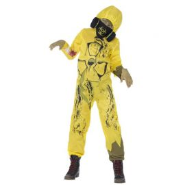 Disfraz de Animadora Zombie para Niña con Pompones