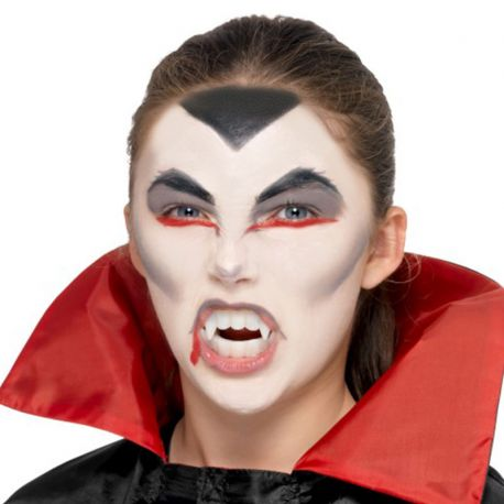 Trucco Halloween Vampiro Uomo.Kit Make Up Halloween Vampiro