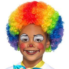 Parrucca da Pagliaccio per Bambini Multicolor