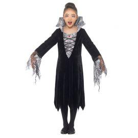 Costume da Vampira per Bambina con Ragnatele
