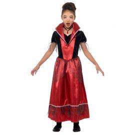 Costume da Vampira per Bambina Elegante