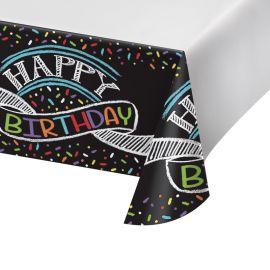 Tovaglia Chalk Birthday 259 x 137